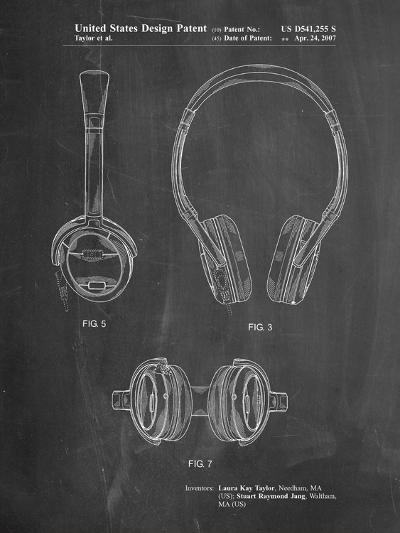 Noise Canceling Headphones Patent-Cole Borders-Art Print