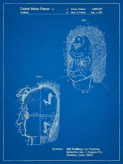 Noise Making Mask-Cole Borders-Art Print