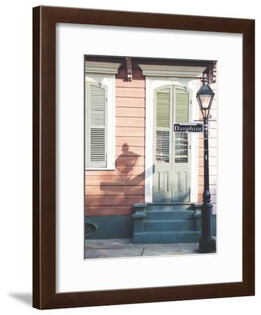 NOLA Doors 2-Sonja Quintero-Framed Art Print