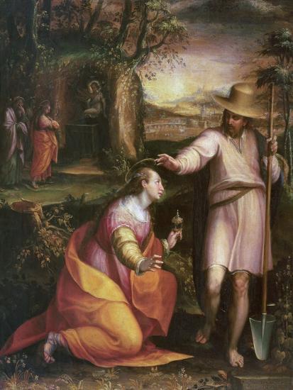 Noli Me Tangere, 1581-Lavinia Fontana-Giclee Print