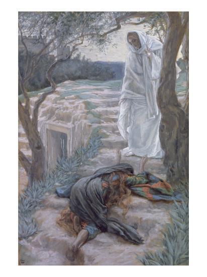 Noli Me Tangere, Illustration for 'The Life of Christ', C.1884-96-James Tissot-Giclee Print