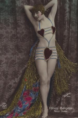 Nolly Dorey, Dancer at the Folies Bergere