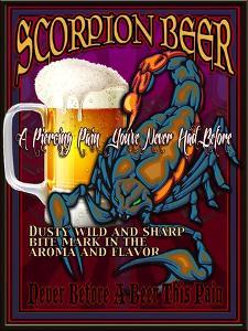 Scorpion Beer by Nomi Saki