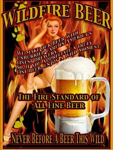 Wildfire Beer by Nomi Saki