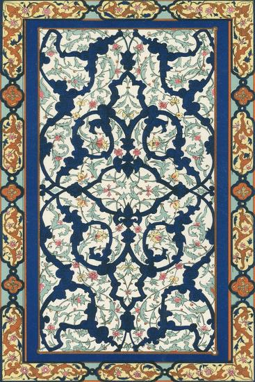 Non-Embellish Persian Ornament III-Vision Studio-Art Print
