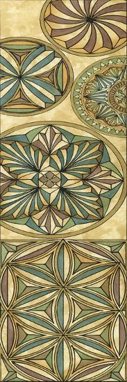 Non-Embellish Stained Glass Panel I-Vision Studio-Art Print