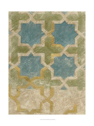 Non-Embellished Exotic Tile II-Chariklia Zarris-Art Print
