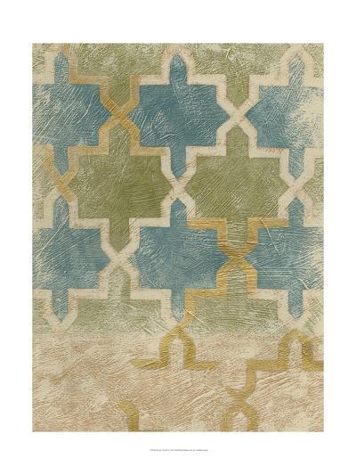 Non-Embellished Exotic Tile III-Chariklia Zarris-Art Print