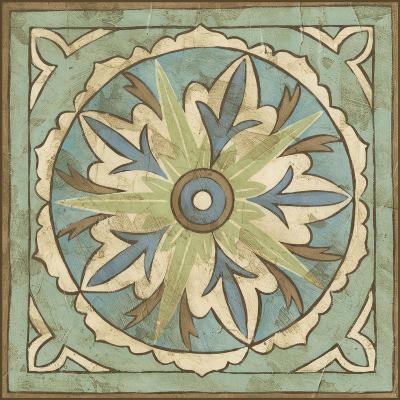 Non-Embellished Ornamental Tile II--Art Print