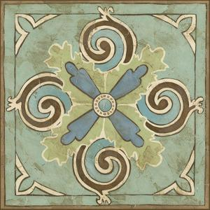 Non-Embellished Ornamental Tile V