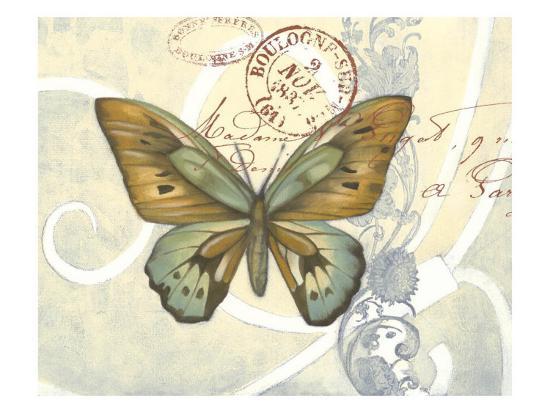 Non-Embellished Postcard Song III--Art Print