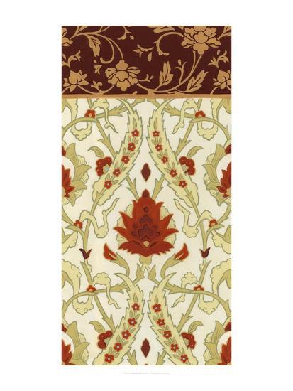 Non-Embellished Royal Palace Panel II-Erica J^ Vess-Art Print