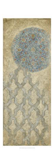 Non-embellished Silver Tapestry I-Vision Studio-Art Print