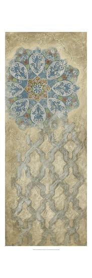 Non-embellished Silver Tapestry II-Vision Studio-Art Print