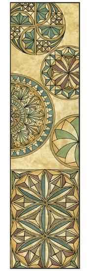 Non-Embellsh.Stained Glass Panel II-Vision Studio-Art Print