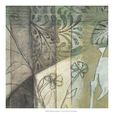 Non-Embld. Stained Glass Garden I-Jennifer Goldberger-Art Print