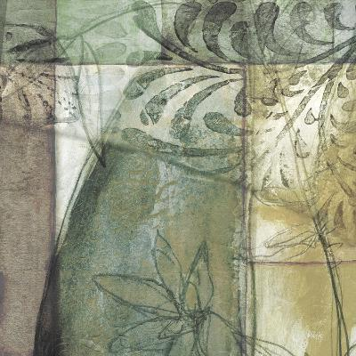 Non-Embld. Stained Glass Garden II-Jennifer Goldberger-Art Print