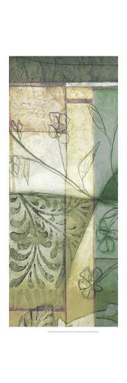 Non-Embld. Stained Glass Garden III-Jennifer Goldberger-Art Print