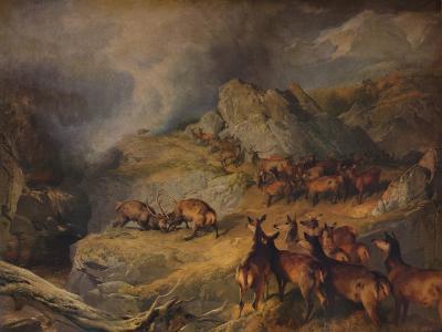 None but the Brave deserve the Fair, c1854-Edwin Henry Landseer-Giclee Print