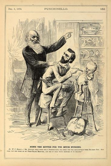 None the Better for Too Much Nursing, 1870-Henry Louis Stephens-Giclee Print