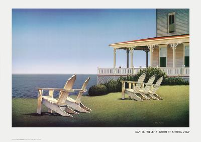 Noon at Spring View-Daniel Pollera-Art Print
