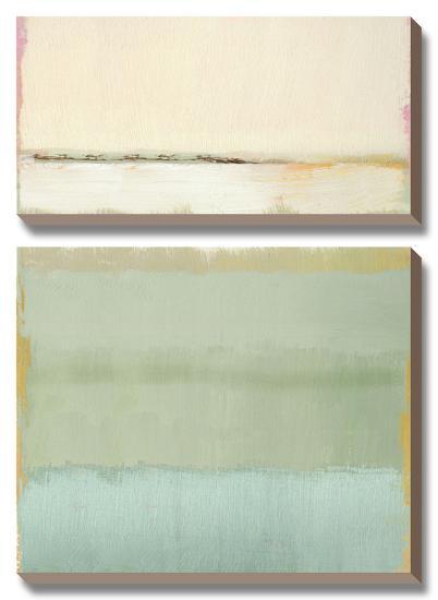 Noon I-Caroline Gold-Canvas Art Set