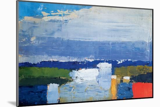 Noon Landscape-Nicolas De Staël-Mounted Premium Giclee Print