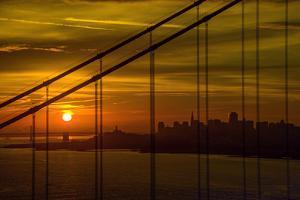 Golden Gate Sunrise by Noppawat Tom Charoensinphon