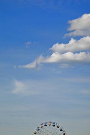 Germany, Hamburg, Big Dipper, Detail, Cloudy Sky