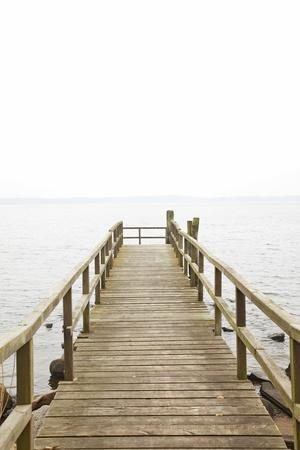 Jetty, the Baltic Sea, Wooden Jetty, Bathing Jetty