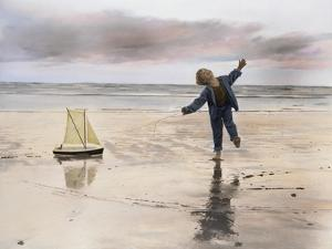 Boy, Fishing by Nora Hernandez