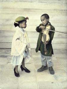 Violin Serenade by Nora Hernandez