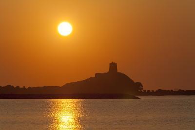 Nora Sunrise over Harbour, Near Pula, Cagliari Province, Sardinia, Italy, Mediterranean, Europe-John Miller-Photographic Print