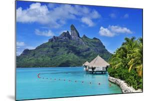 Saint Regis Bora Bora Resort, Bora Bora, French Polynesia, South Seas Pr by Norbert Eisele-Hein