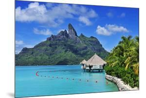 Saint Regis Bora Bora Resort, Bora Bora, French Polynesia, South Seas Pr by Norbert Eisele-Hein