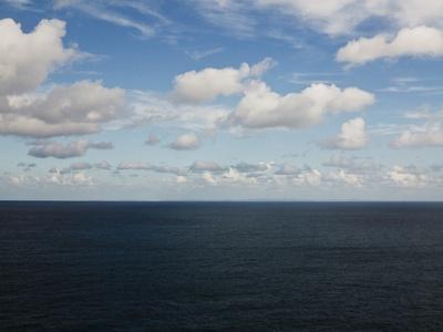Clouds over Calm Sea