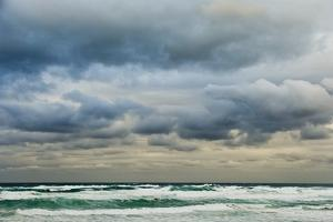 Clouds over Rough Sea by Norbert Schaefer