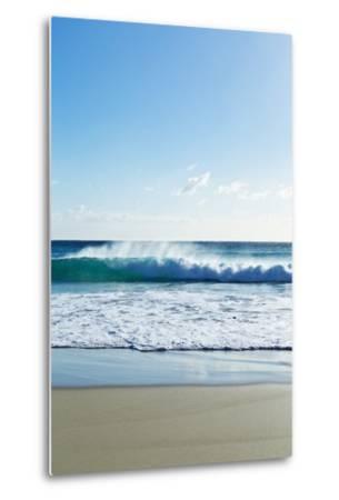 Waves Breaking at Beach