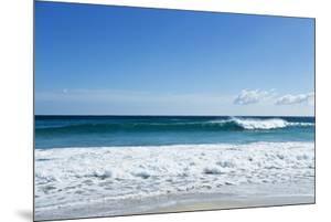 Waves Breaking at Beach by Norbert Schaefer
