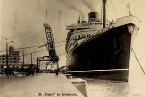 Norddeutscher Lloyd, Dampfer Bremen, Columbuspier