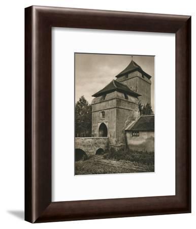 'Nordlingen - Berger Tor', 1931-Kurt Hielscher-Framed Photographic Print