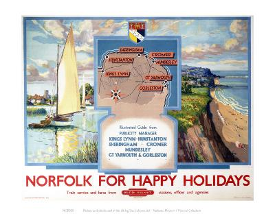Norfolk for Happy Holidays--Art Print
