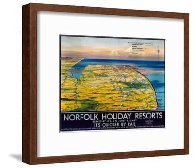 Norfolk Holiday Resorts, M&GN/LNER/LMS, c.1936