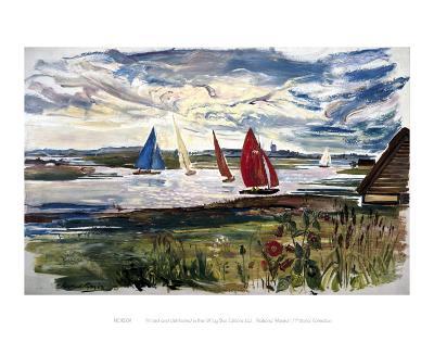 Norfolk Sailing Boats--Art Print