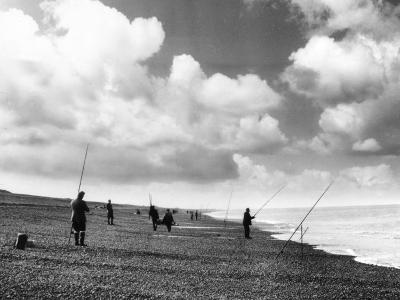 Norfolk Sea Anglers--Photographic Print