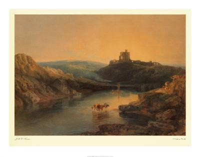 Norham Castle-J^ M^ W^ Turner-Art Print