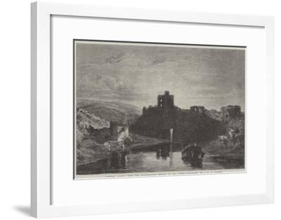 Norham Castle-J^ M^ W^ Turner-Framed Giclee Print