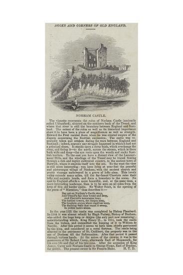 Norham Castle--Giclee Print
