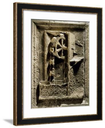 Noria Consisting of Wheel--Framed Giclee Print