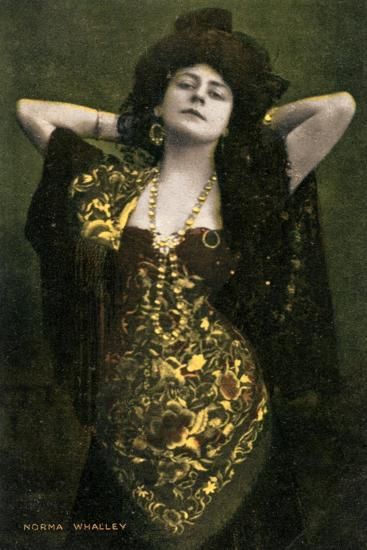 Norma Whalley, Australian Actress, Early 20th Century-Miller and Lang-Giclee Print